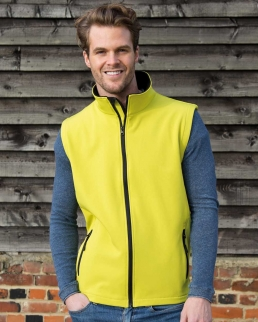 Bodywarmer Soft Shell uomo