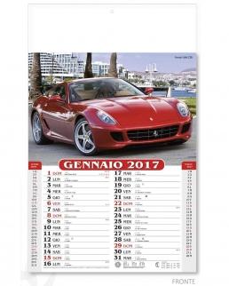 Calendario Mensile Auto Sportive