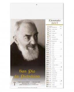 Calendario Mensile Padre Pio