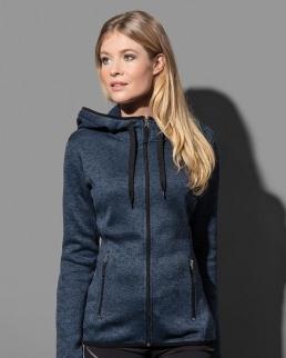 Giacca donna Active Knit Fleece