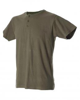 T-shirt serafino uomo girocollo Malaga