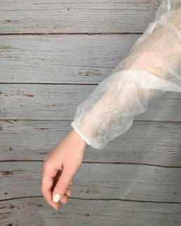 Camice manica lunga con elastico ai polsi
