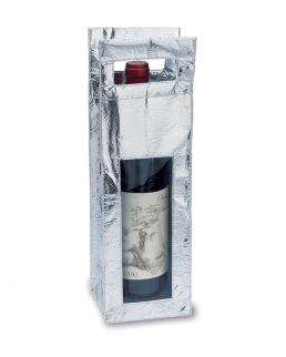 Portabottiglie 1 posto shinning argento