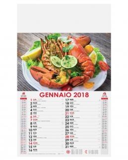 Calendario Cucina