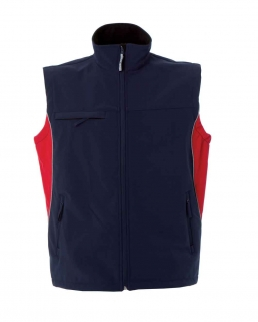 Gilet Edmonton in soft shell Bicolore