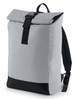 Borsa Reflective Roll-Top Backpack