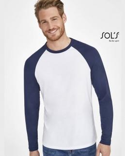 T-shirt uomo bicolore Funky Lsl
