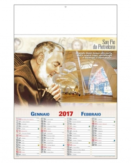 "Calendario bimensile ""San Pio"""