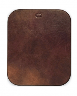 Mouse pad in pelle bovina