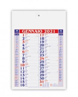 Calendario Olandese Medio 12 fogli