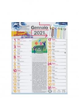Calendario dell'ecologia