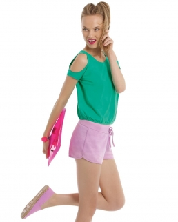 Shorts donna Estivi in frech terry