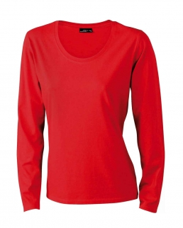 T-shirt Donna maniche lunghe medium