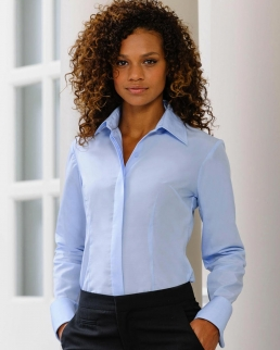 Camicia donna Tencel Corporate maniche lunghe