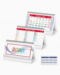 Calendario da tavolo Multicolor
