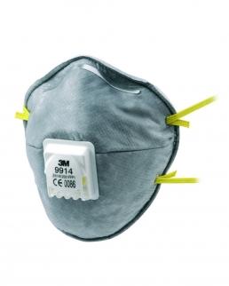 Maschera protettiva 3M 9914 con valvola / ffp1