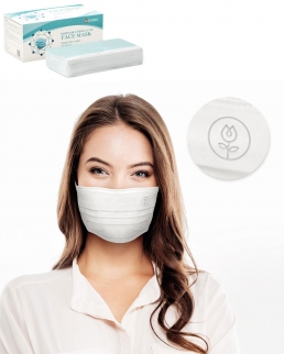 Mascherina chirurgica certificata scatola personalizzabile