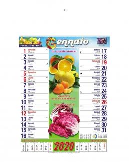 Calendario Frutta 12 fogli