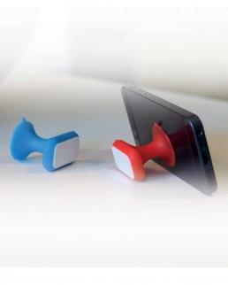 Ventosa supporto per cellulare con targhetta