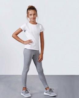 Leggings bambina con cintura elastica