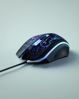 Mouse da gioco cablato con luce