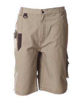 Pantalone multitasche professionale corto 100% cotone