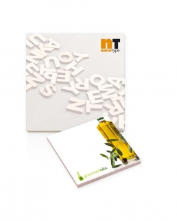 BIC® 101 mm x 101 mm 25 Fogli Adhesive Notepads Ecolutions®