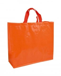 Shopper in polipropilene laminato lucido