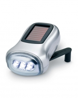 Torcia 3 LED in ABS