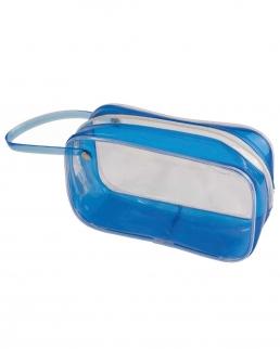 Beauty case in PVC trasparente