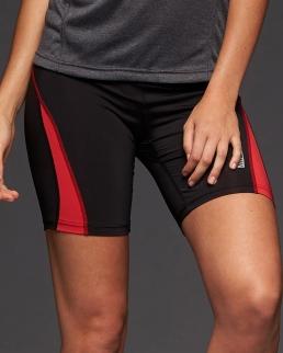 Pantaloncini aderenti da corsa da donna