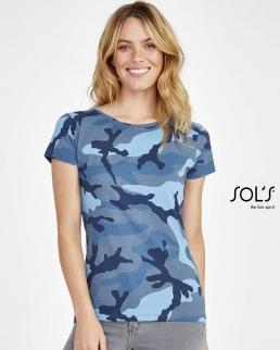 T-shirt Camo women