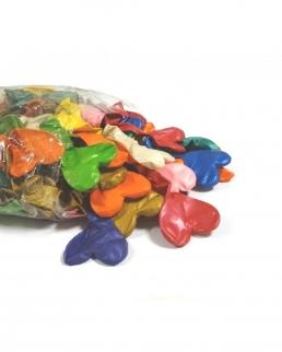 Palloncini Cuore 23 cm colori metallizzati