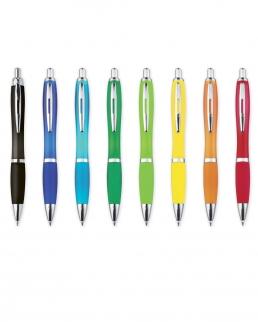 Penna in plastica semitrasparente