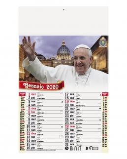 Calendario Papa Francesco 12 fogli