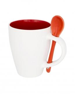 Tazza in ceramica con cucchiaio 250 ml