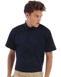 Camicia uomo maniche corte Sharp Twill