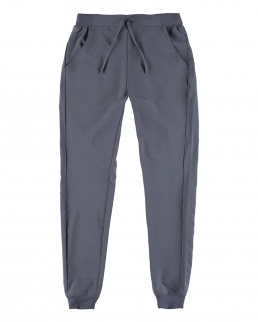 Pantalone Donna elasticizzato con elastico alla caviglia
