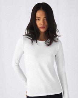 T-shirt donna E190 maniche lunghe
