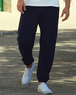 Pantaloni tuta con orli inferiori elasticizzati
