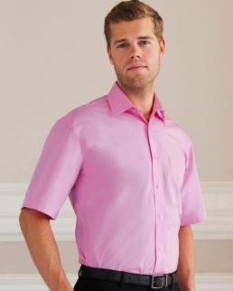 Camicia Popeline puro cotone maniche corte