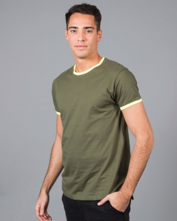 T-shirt manica girocollo Lipsia