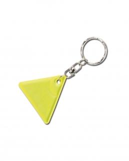 Portachiavi fluorescente triangolo