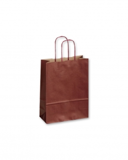 Shopper in carta solfata Twister Bordo 1