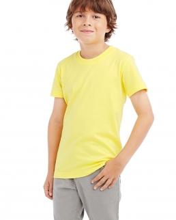T-shirt comfort con girocollo