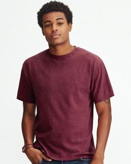 T-shirt in cotone prelavato