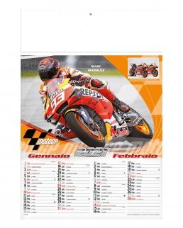 Calendario Moto GP1 6 fogli