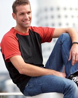 T-shirt uomo Raglan-T