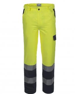 Pantalone bicolore alta visibilità Lucentex Classe 2