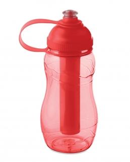 Bottiglia con stick refrigerante.